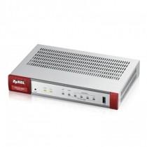 ZyXEL Zyxel ZyWALL USG20-VPN, 10xIPSec VPN, up to 15xSSL, 4x 1Gbps LAN/DMZ, 1xSFP, USB
