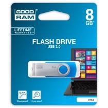 GoodRam Pamięć USB UTS2 8GB USB 2.0 Niebieska