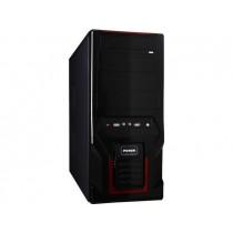 Gembird obudowa CCC-D1-03 Midi Tower ATX + Audio + USB 3.0, black