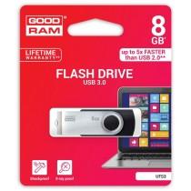 GoodRam Pamięć USB UTS3 8GB USB 3.0 Czarna