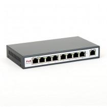 8level FEPS-1904 Switch PoE 9-portowy 10/100 (4 porty PoE,15.5 W/Port , max 65W)