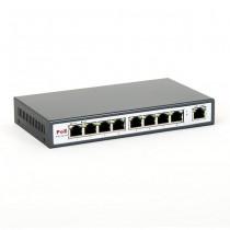 8level FEPS-1908 Switch PoE 9-portow 10/100 (8 portów PoE,15.5 W/Port ,max 130W)
