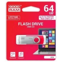 GoodRam TWISTER RED 64GB USB3.0