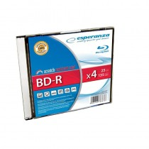 Esperanza BD-R 25GB x4 - Slim case 1 szt.