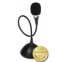 Media-Tech MICCO (mini mikrofon biurkowy wysokiej jakości z przyciskiem ON/OFF)