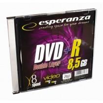 Esperanza DVD+R 8,5GB Double Layer x8 - Slim 1