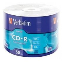 Verbatim CD-R [ wrap 50   700MB   52x   DataLife EXTRA PROTECTION ]