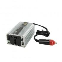Whitenergy Przetwornica AC/DC 12V (samochód) na 230V, 200W mocy złącze USB