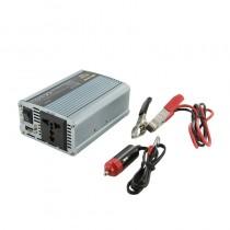 Whitenergy Przetwornica AC/DC 12V (samochód) na 230V, 350W mocy złącze USB