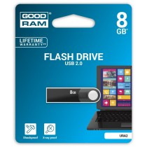 GoodRam URA2 8GB USB2.0 Black