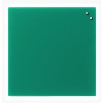 NAGA Szklana tablica magnetyczna szmaragdowa 45x45