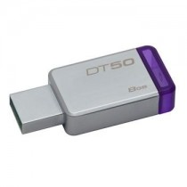 Kingston 8GB USB 3.0 DataTraveler 50 (Metal/Purple)