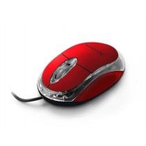 Esperanza EXTREME XM102R Przewodowa Mysz Optyczna USB CAMILLE 3D| 1000 DPI | Czerwona