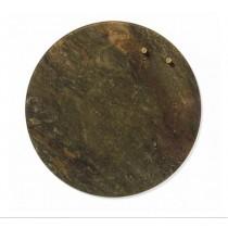 NAGA Szklana tablica magnetyczna zielony marmur 35 cm