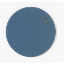NAGA Szklana tablica magnetyczna niebieska 35 cm