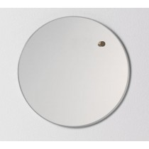 NAGA Szklana tablica magnetyczna lustro 25 cm