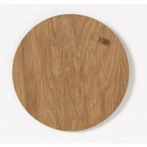 NAGA Tablica drewniana magnetyczna złote drewno 25 cm