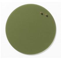 NAGA Szklana tablica magnetyczna oliwka 35 cm