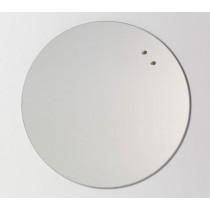NAGA Szklana tablica magnetyczna lustro 45 cm