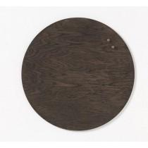 NAGA Tablica drewniana magnetyczna orzech 45 cm