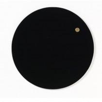 NAGA Szklana tablica magnetyczna czarna 25 cm