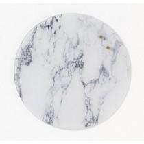 NAGA Okrągła szklana tablica suchościeralno-magnetyczna marmur 35cm