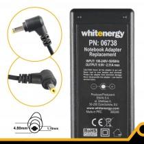Whitenergy zasilacz 9.5V/2.31A 22W (wtyczka 4.8x1.7mm, Asus EEE PC 701)