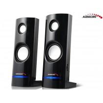Audiocore AC860 Głośniki komputerowe 8W USB czarne