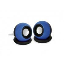 Gembird Głośniki 2.0 SPK-AC-B | 2x3W| Blue