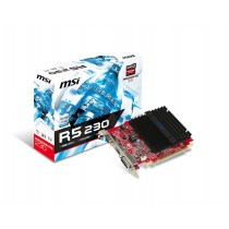 MSI Karta graficzna Radeon R5 230 1 GB R5 230 1GD3H LP