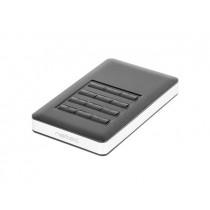 NATEC RHINO CODE obudowa USB 3.0 na dysk HDD/SSD 2.5'' SATA (szyfrowanie) czarna