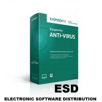 Kaspersky Anti-Virus 1U-1Y UPG ESD