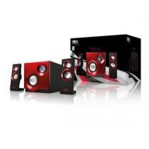 Sweex Zestaw głośników 2.1, 60W Purephonic Red