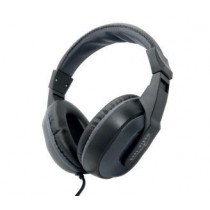 Media-Tech PAVO - Stereo headphones with microphone, 1-jack, 40 mm driver units