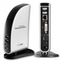 iTec USB 2.0 Docking Station With DVI Video+VGA (Port Replicator) + LAN + Audio