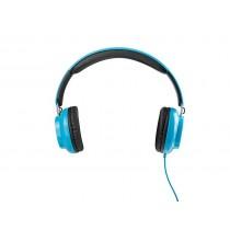 ModeCom Słuchawki Nagłowne MH-3 z Mikrofonem, niebieskie
