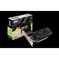 MSI GeForce GTX 1050 2GT LP, 2GB GDDR5, DisplayPort/HDMI/Dual-link DVI