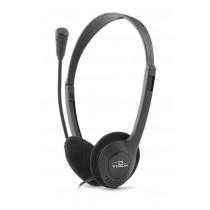 Esperanza TITANUM TH112 Słuchawki Stereo z Mikrofonem i Regulacją Głośności |1,5m - RAVE