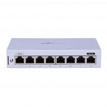 Ubiquiti Networks Ubiquiti US-8 - Fully Managed 8-port Gigabit UniFi switch 1 PoE Passthrough Port