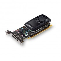 PNY Technologies NVIDIA Quadro P400, 2GB GDDR5 (64 Bit), 3xminiDP (3x miniDP to DP), LP