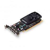 PNY Technologies NVIDIA Quadro P600 DVI, 2GB GDDR5 (128 Bit), 4x miniDP (4x mDP to DVI-D), LP