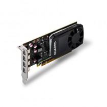 PNY Technologies NVIDIA Quadro P1000 DVI, 4GB GDDR5 (128 Bit), 4x miniDP (4x mDP to DVI), LP