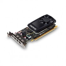PNY Technologies NVIDIA Quadro P1000, 4GB GDDR5 (128 Bit), 4x miniDP (4x miniDP to DP), LP