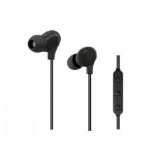 Qoltec Bezprzewodowe słuchawki BT + mikrofon | Czarne