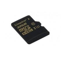Kingston Karta pamięci Kingston microSDHC 32GB Class 10 UHS-I (U3) (45W/90R MB/s) Gold Series
