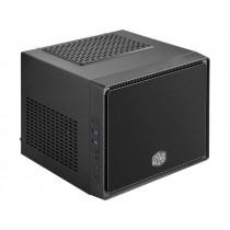 Cooler Master obudowa komputerowa Elite 110 Czarna, brushed aluminium panel
