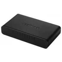 Edimax 8 Port Fast Ethernet Switch, Desktop compact, 10/100Mbps, black