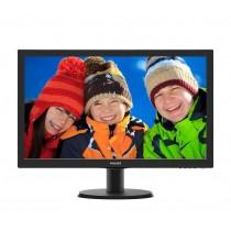 Philips Monitor 243V5LHAB5/00, 24'', D-Sub/DVI/HDMI, głośniki