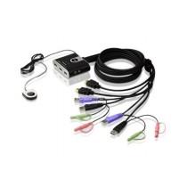 Aten PRZEŁĄCZNIK KVM 2 PORTY USB HDMI CS692