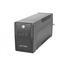 Armac UPS HOME Line-Interactive 650F LED 2x Schuko 230V, USB